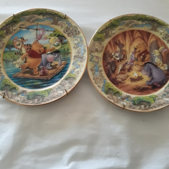 the Bradford exchange Other - A teggerifc show & to the rescue collection plates